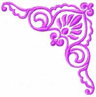 Barocco Ornaments Machine Embroidery Designs set