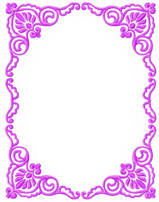 4 Hobby Machine Embroidery Designs Ornaments Barocco