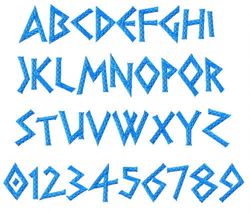 ancient greek alphabet font