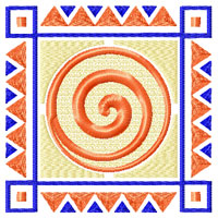 African Style 8 Quilt Motifs/Blocks Machine Embroidery Designs set 4x4