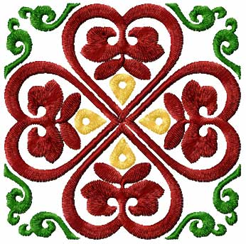 Set 1 Square Quilt Blocks Machine Embroidery Designs
