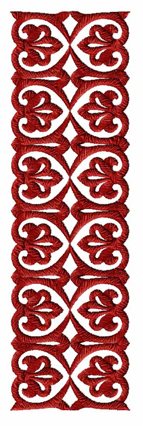 Hobby machine embroidery designs borders