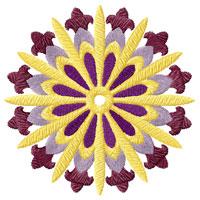 Circle Quilt Motifs/Blocks 18 Machine Embroidery Designs 4x4