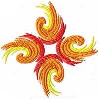 Free Feng Shui Fenix Phoenix Machine Embroidery design