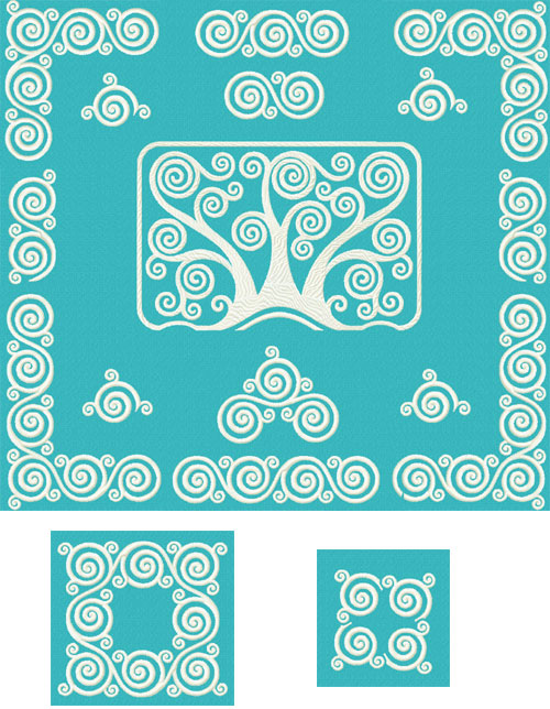 Frosty Patterns of Window - 11  Ornaments   Machine Embroidery Designs set