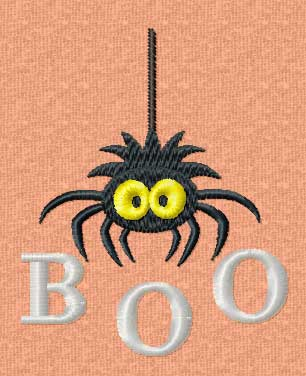 Free Halloween Machine Embroidery Design