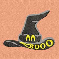 Boo Halloween Machine Embroidery Designs set