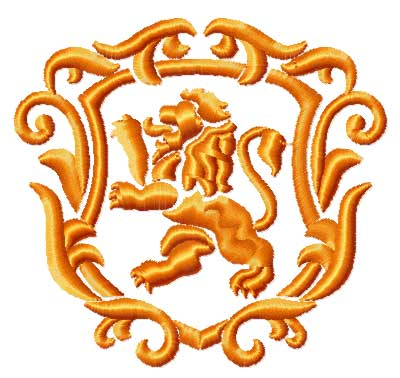 Free Machine Embroidery Designs Heraldic