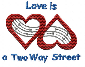 I found love on a two way street