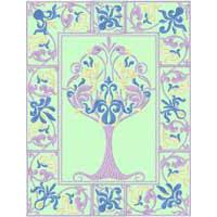 Renaissance: 4 Seasons Trees - 84 Quilt Blocks Machine Embroidery Designs
