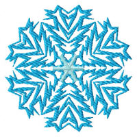 Snowflakes #3 Machine Embroidery designs set