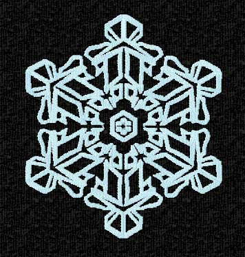 Snowflakes Embroidery Designs