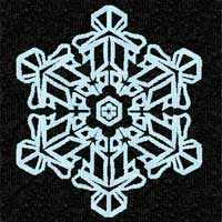 Free Snowflake Machine Embroidery Design