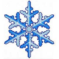 Snowflakes #1 Machine Embroidery designs set