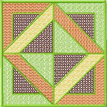 4 Hobby Com Machine Embroidery Designs Quilt Blocks