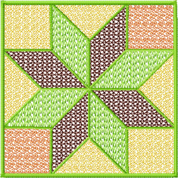 Set #3 Square Quilt Blocks Machine Embroidery Designs