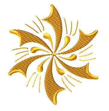 Gold Stars Machine Embroidery Designs Set 4x4 Hoop  EBay
