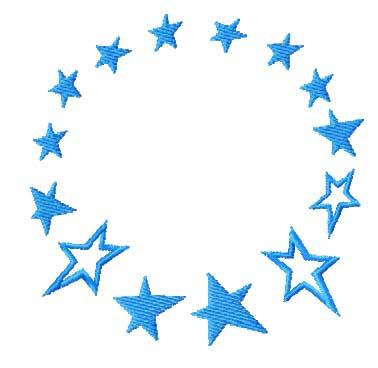 Stars Machine Embroidery Designs Set 4x4 Hoop  EBay