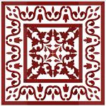 Tiles Mosaic Ornaments Quilt Blocks Machine Embroidery Designs 4x4