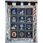 12 Tribes Wall Hanging