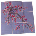 Cherry Blossom Wall Hanging