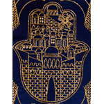 Jerusalem Hamsa Book Bag