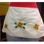 Skirt with Sunflowers
