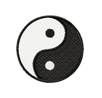 feng shui yin yang machine embroidery designs set ebay. Black Bedroom Furniture Sets. Home Design Ideas