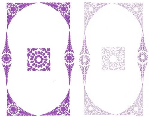 Classic Ornaments Machine Embroidery Designs set